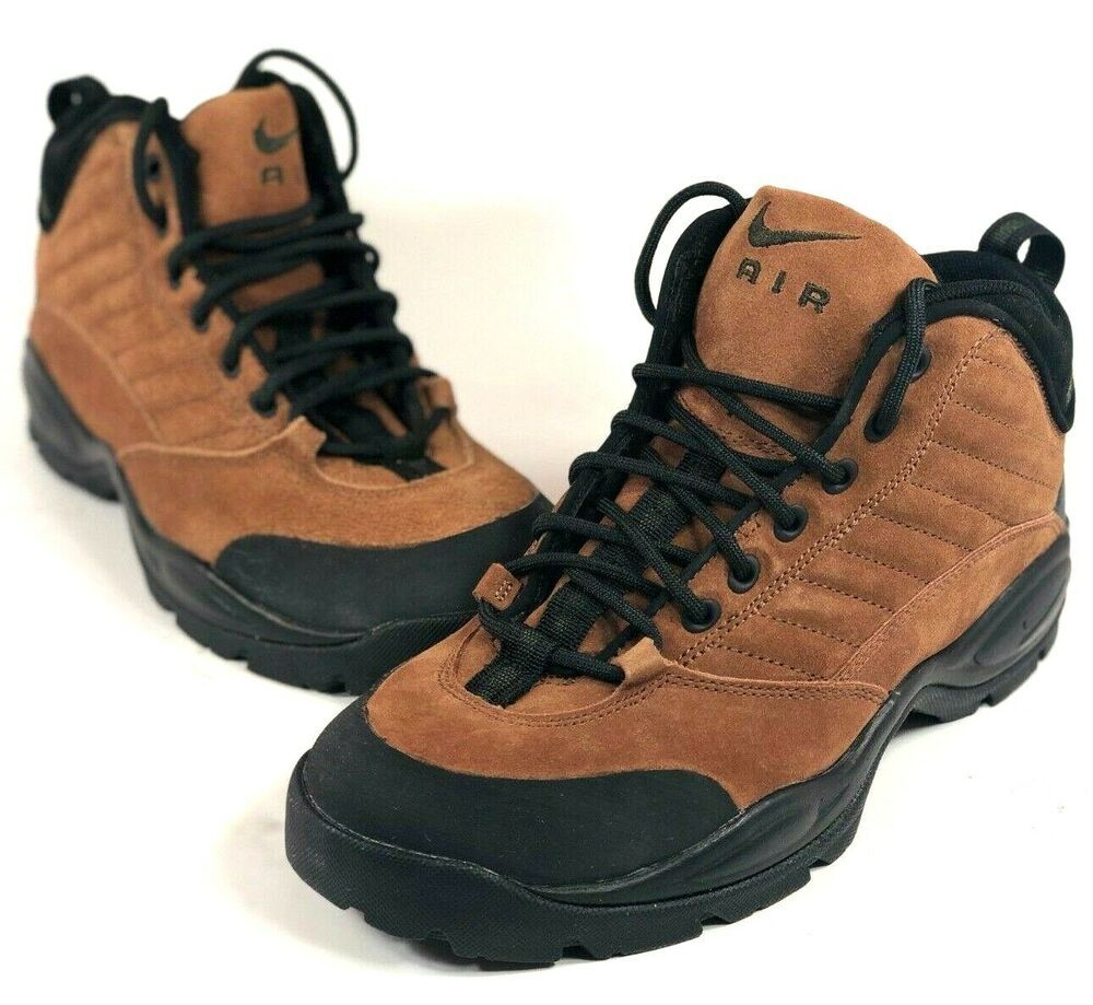32e6a69287160 eBay  Sponsored Nike Air Mada LT Mid ACG Mens 10.5 Leather Hiking Shoes New  Old