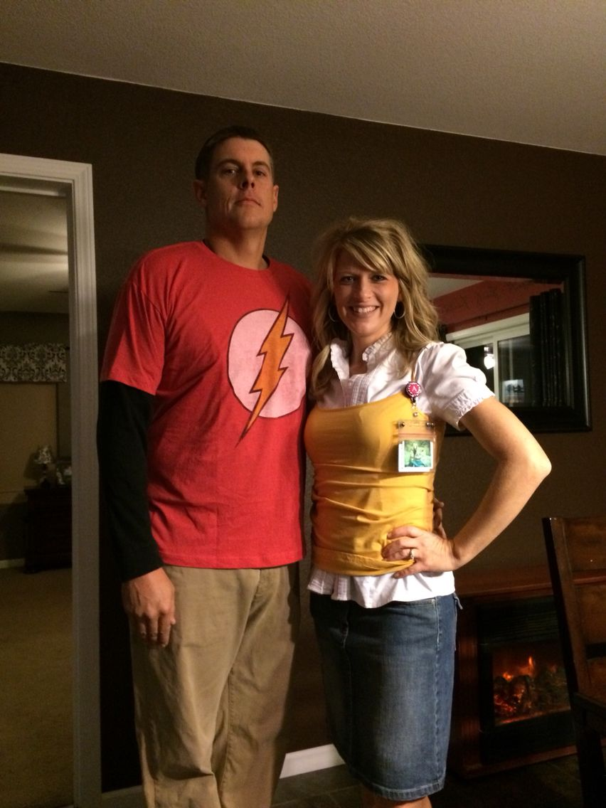 Leonard and penny costume