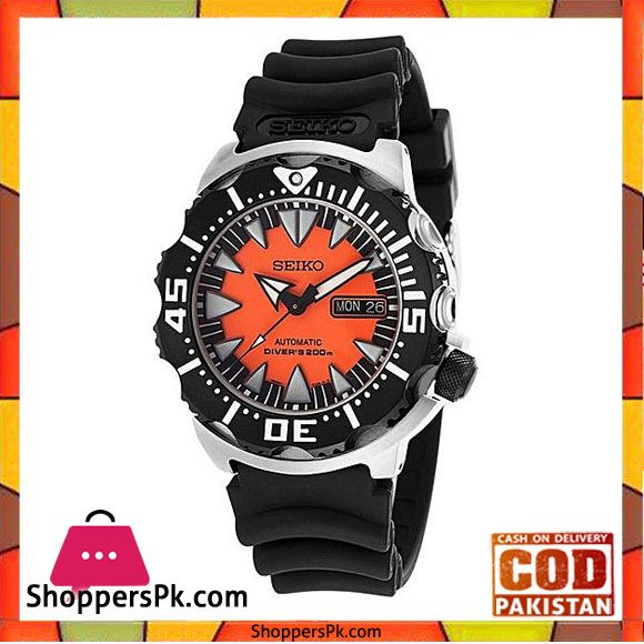 On Sale  Seiko Orange Rubber Watch For Men -SRP315K1 in Pakistan Price Rs. 981a60d3d