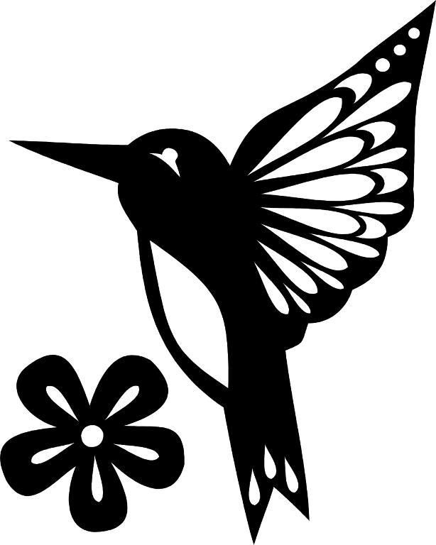 8 name paper crafts hummingbird template free paper projects