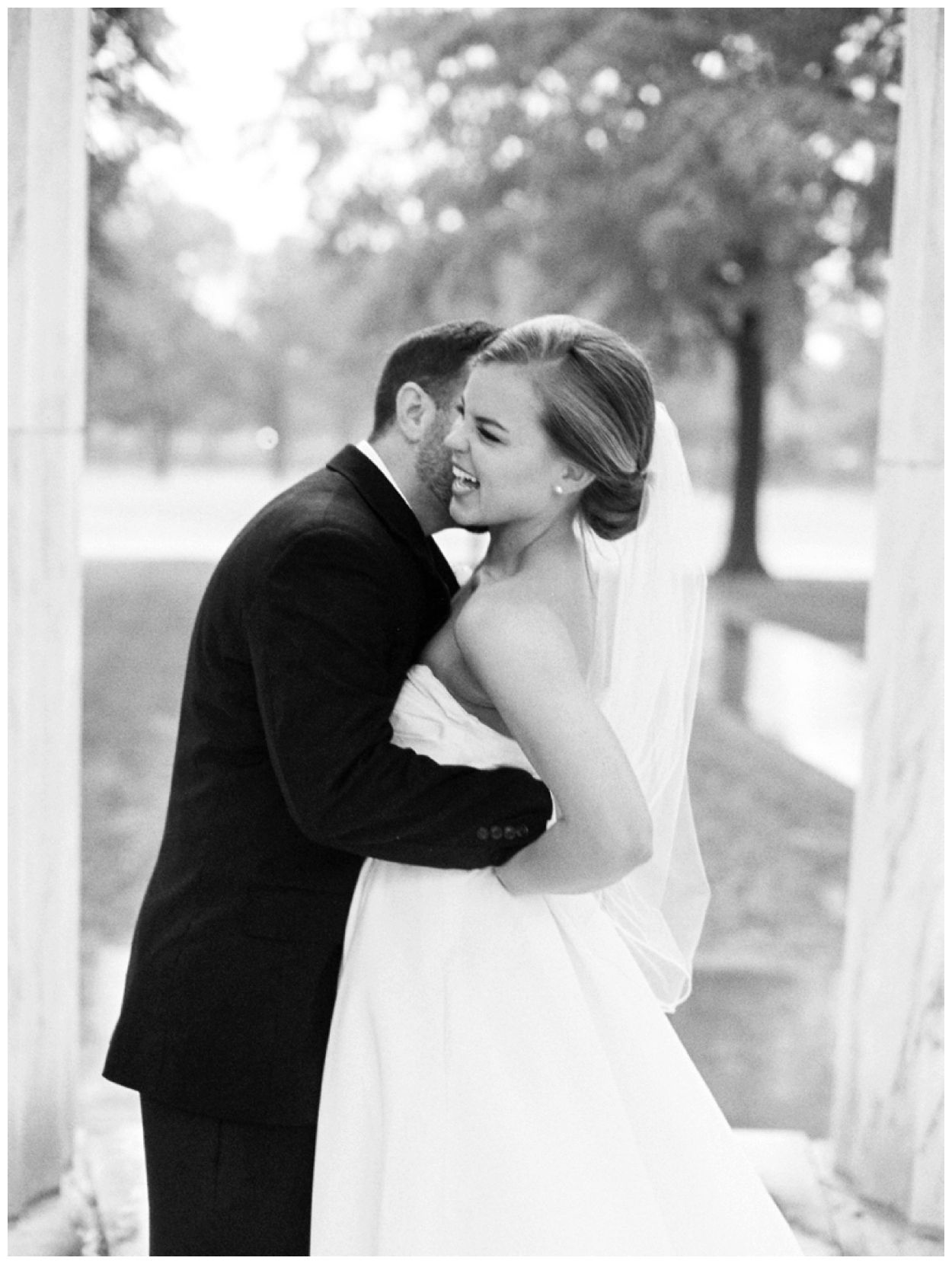 Rainy Intimate Elopement on the National Mall National