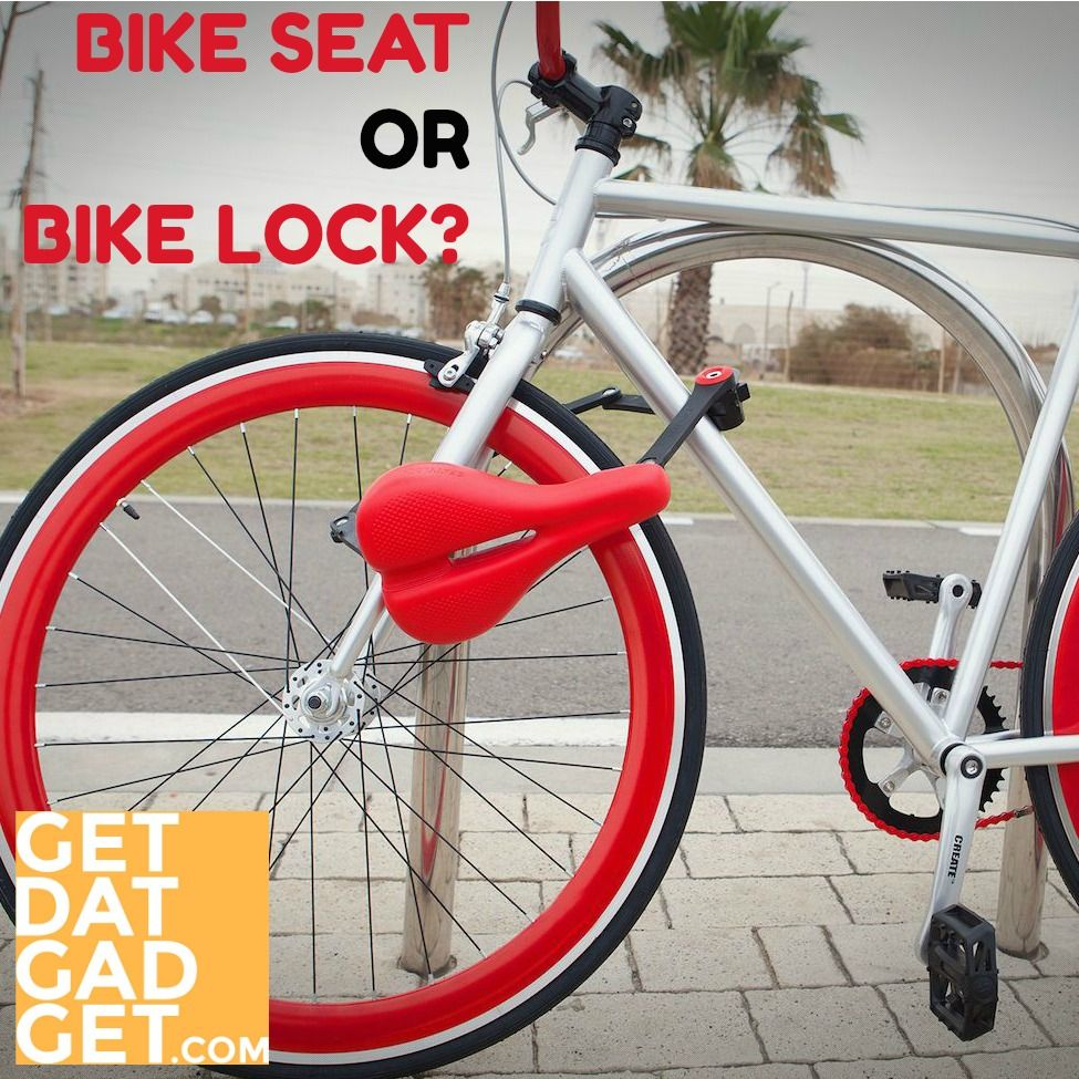 Seatylock Turns Your Saddle Into A Bike Lock With Images Bike