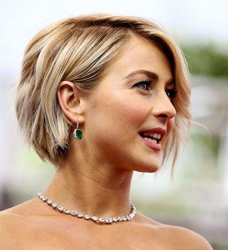 Short Hair Bobs Thin, De 30 mooiste kapsels van Julianne Hough Bob ... #hairstylesforthinhairfine