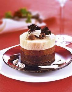 Torrette di cioccolato alle tre mousse - Tutte le ricette dalla A alla Z - Cucina Naturale - Ricette, Menu, Diete