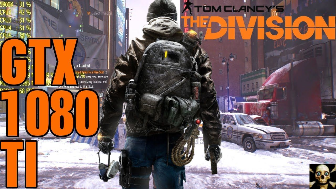 The Division Gtx 1080 TI Ultra Gameplay Fps Performance 3440X1440
