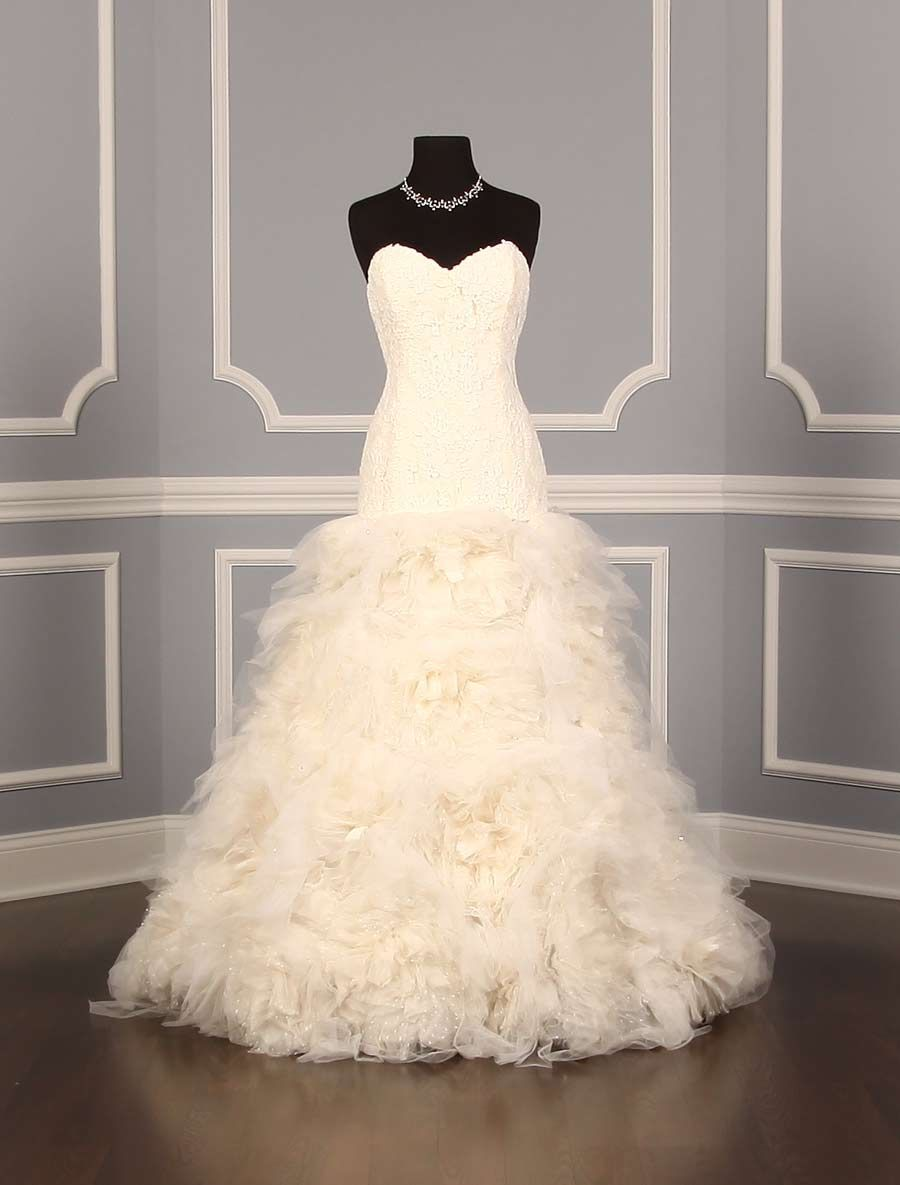 Amsale Brighton M625 Discount Designer Wedding Dress | Discount ...