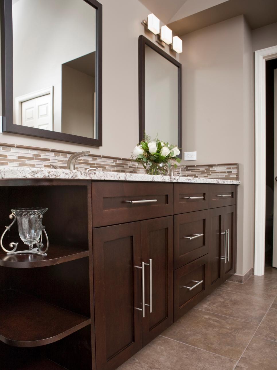 9 Bathroom Vanity Ideas Dark Wood Bathroom Wood Bathroom Vanity Bathroom Remodel Master