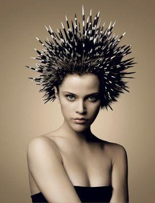 porcupine hair avant-garde
