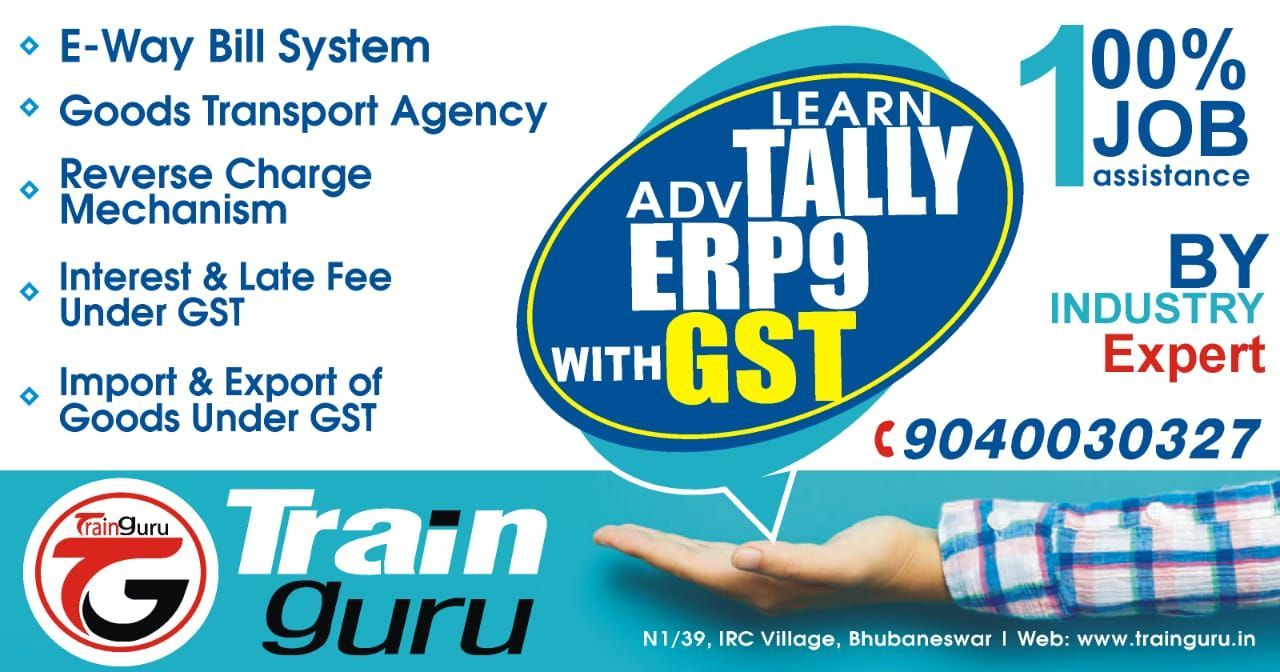 Learn Tally Erp 9 with Gst returns, TDS Returns, Excel at