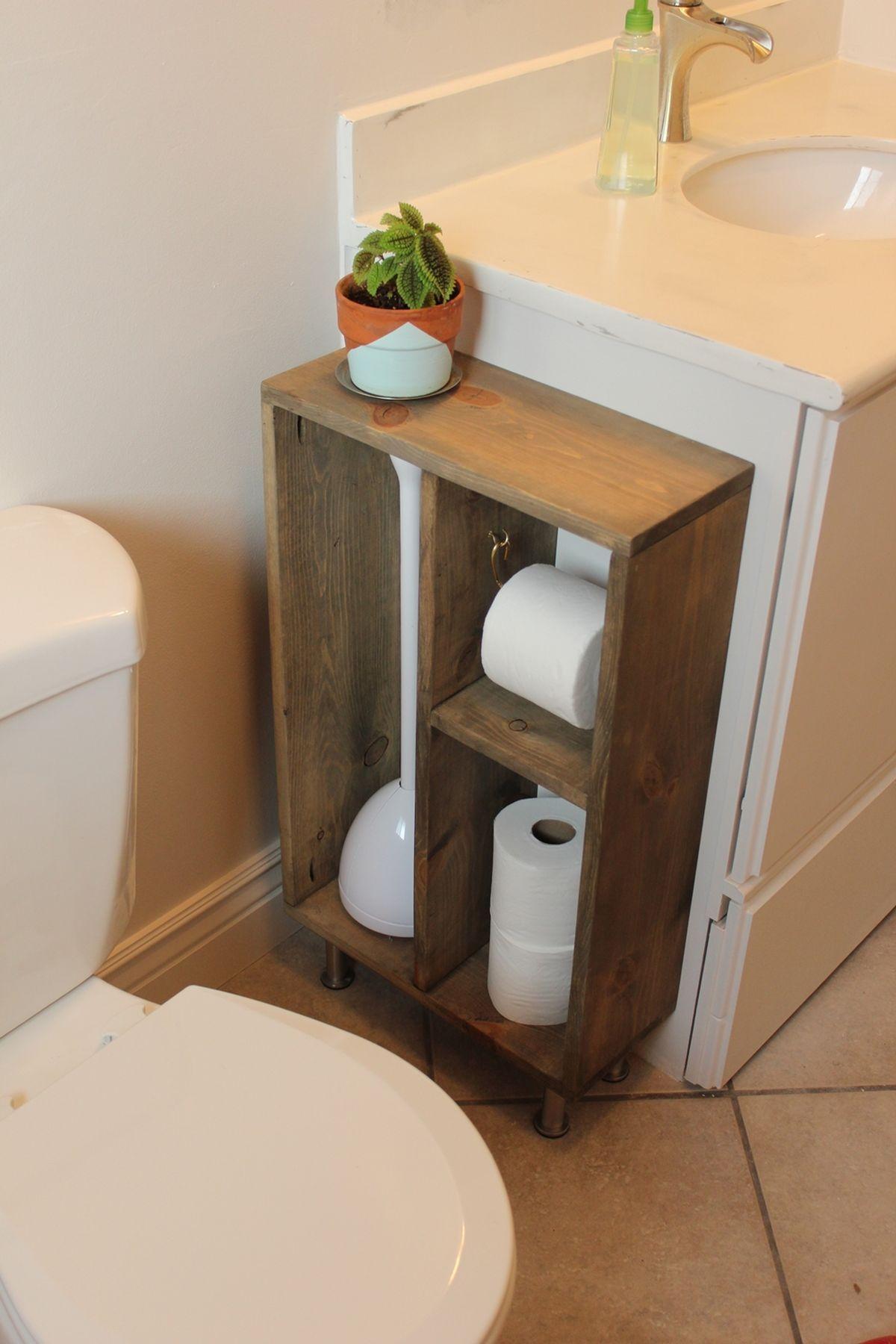 15 Totally Unusual Diy Toilet Paper Holders Bathroom Toilet