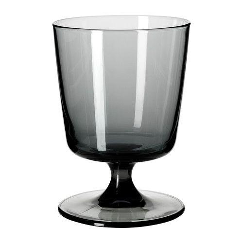 Bed rande bicchiere da vino bianco ikea tavola in musica for Vasi di vetro ikea