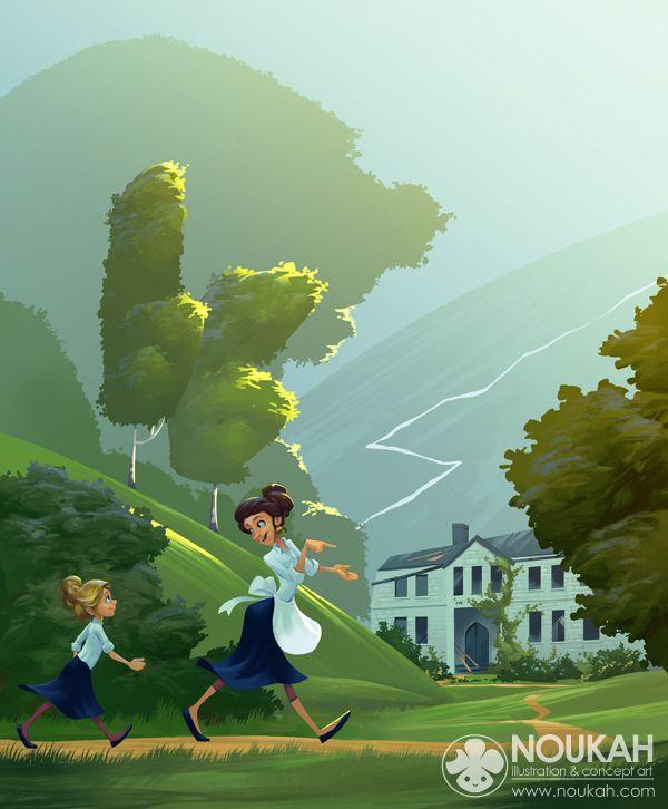 Illustrations 2013 by Andrea Femerstrand, via Behance