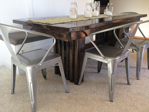 Modern Dining Table Do It Yourself Home Projects From Ana White