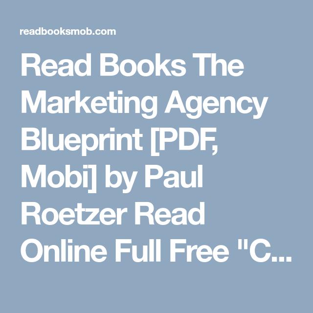 Read books the marketing agency blueprint pdf mobi by paul read books the marketing agency blueprint pdf mobi by paul roetzer read online malvernweather Choice Image