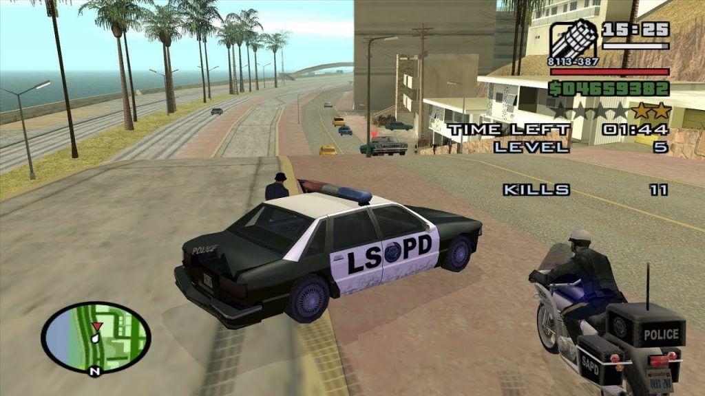 كود جتيا ساندرياس بلاي ستيشن 2 الشرطة لا تبحث عنك ابدا Gta San Andreas Ps2 Monster Trucks Police Toy Car