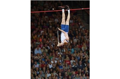 Jax Thoirs Convinced It S Only Matter Of Time Before He Hits Uk Pole Vault Record Pole Vault Records Pole