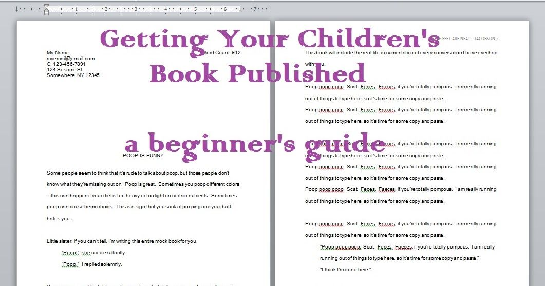 Getting Your Children's Book Published Book publishing