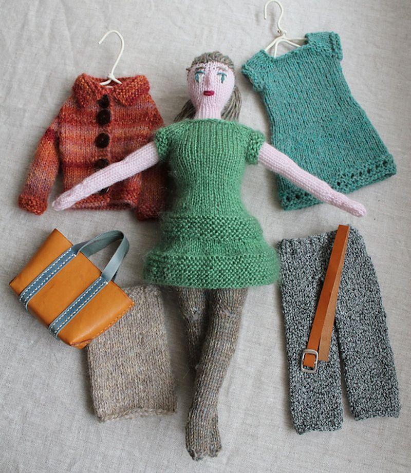 15 gestrickte Spielzeuge für Kinder #knitteddollpatterns