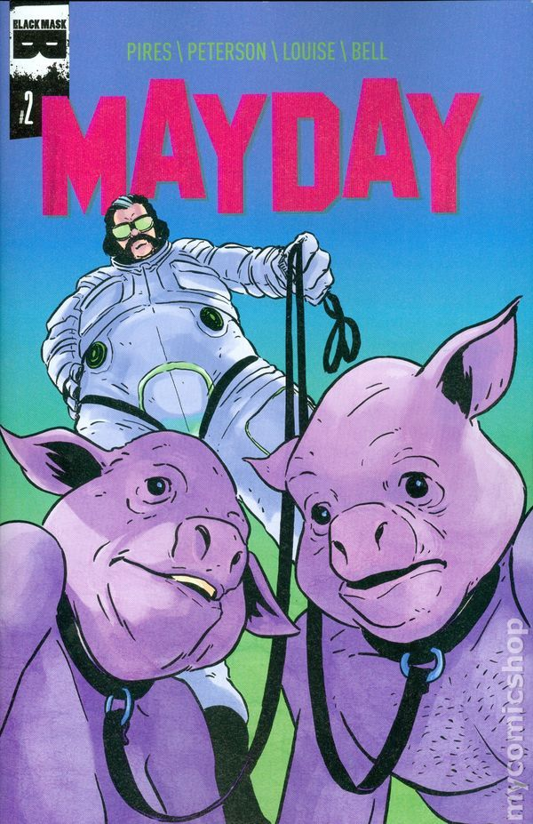 Mayday (2015 Black Mask) 2