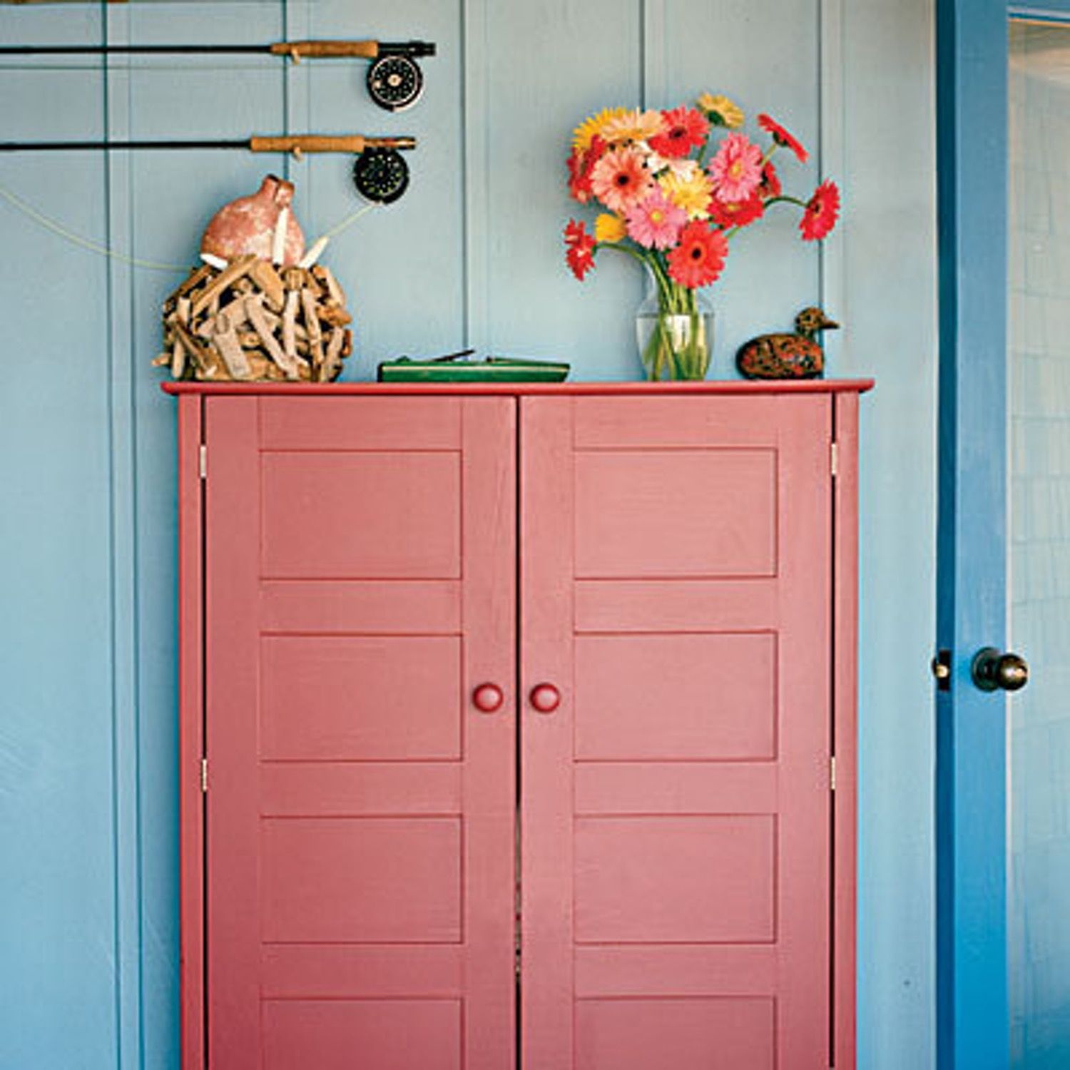 Colorful painted wood paneling wood panel walls woods and panel walls