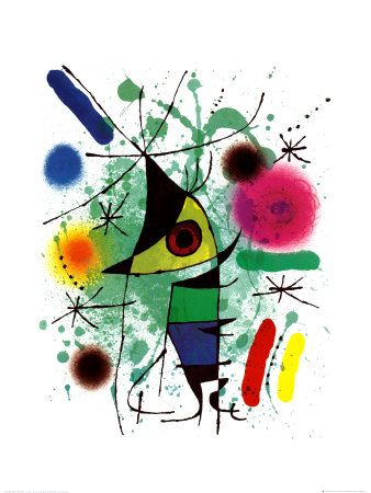 The Singing Fish (1921)  Joan Miró i Ferrà (1893 – 1983)    Chicago Museum of Contemporary Art (I think)
