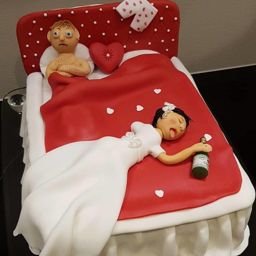 15 Funny Wedding Cake Ideas That Ll Leave Everyone Laughing Hard Shaadisaga Funny Wedding Cakes Wedding Humor Crazy Wedding Cakes