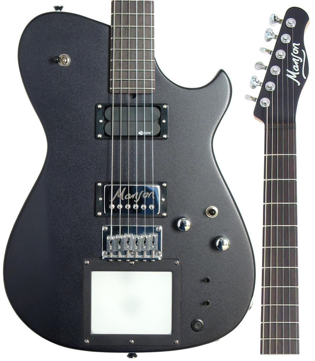 mason guitar matt bellamy mb 1 w kaoss pad midi controller [ 1045 x 1196 Pixel ]