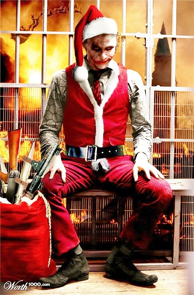 Christmas Joker | My Stuff | Pinterest | Joker, Christmas and Batman