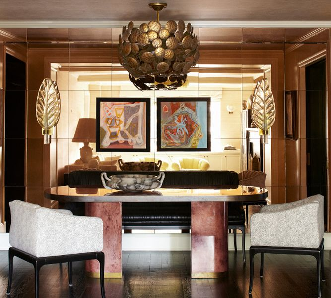Bedrooms By Top Interior Designers Kelly Wearstler: INTERIORS. Dining Room, Manhattan