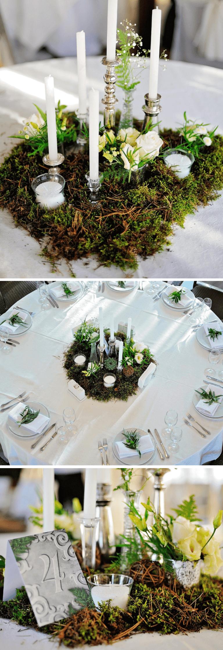 35 originelle Tischdeko-Ideen für die Hochzeit – Hochzeitskiste – Boda fotos
