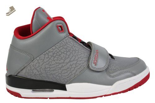 online store 71541 150db nike air jordan FLTCLB 90's mens hi top basketball trainers 602661 sneakers  shoes (uk 8 us 9 eu 42.5, cool grey gym red black white) - Nike sneakers  for ...