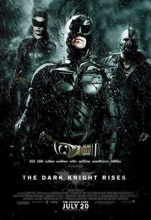 The Dark Knight Rises 2012 Batman O Cavaleiro Das Trevas