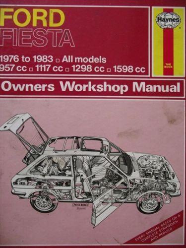 ford fiesta 1976 1983 workshop manual 0856969443 listing in the ford rh pinterest com Manual vs Automatic Car Trashing Used Car Oil