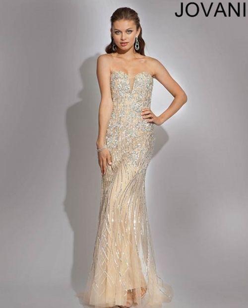 Jovani 88314 - 1920\'s Art Deco Great Gatsby Wedding Dress   dresses ...