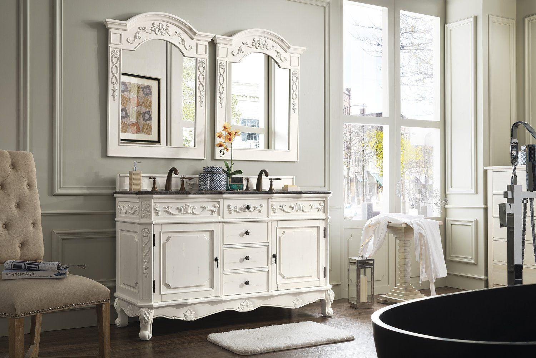 60 Classico Costa Blanca Double Sink Bathroom Vanity Oturma Odasi Fikirleri Oturma Odasi Fikirler
