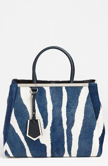 Fendi  2Jours - Medium  Calf Hair Shopper   Exquisite apparel   Sac à Main,  Sac, Haute couture 883c11a33b3