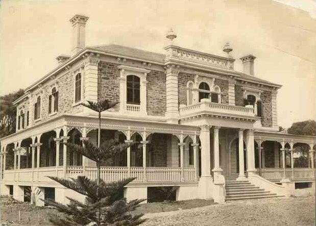Benacre 1877 b10639 list of historic houses in south for Architects south australia