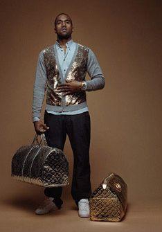 Louis Vuitton Ad Kanye West For Louis Vuitton Kanye West Style Kanye Fashion Kanye West Clothing Line