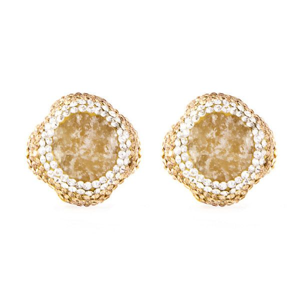 Heirlume Fine Jewelry Orange Calcite Small Stud Earrings The Perfect Glamourous Accessory For Your Cly