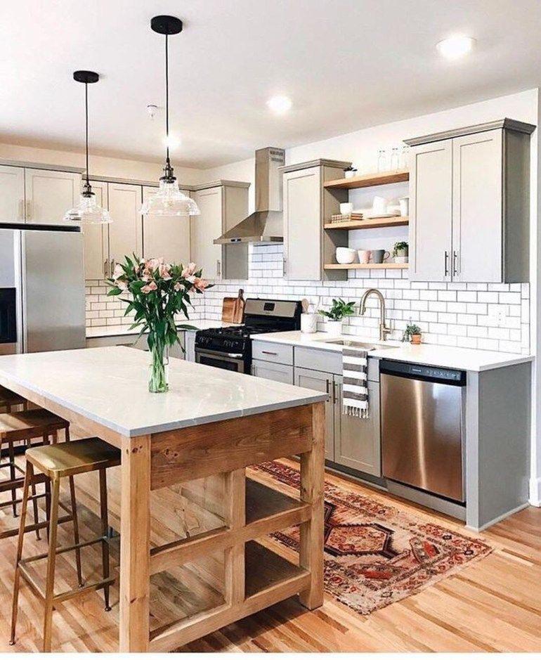 30 Modern Kitchen Design Ideas: 30+ Wonderful Modern Farmhouse Kitchen Design Ideas