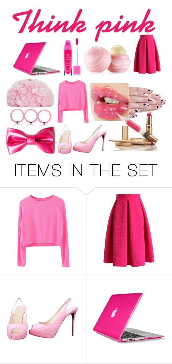 """""""Think pink"""" by cuteboxgirl ❤ liked on Polyvore featuring art"""