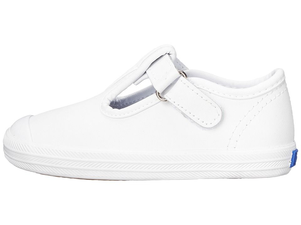 bb059206a2c4bd Keds Kids Champion Toe Cap T-Strap 2 (Infant Toddler) Girls Shoes ...