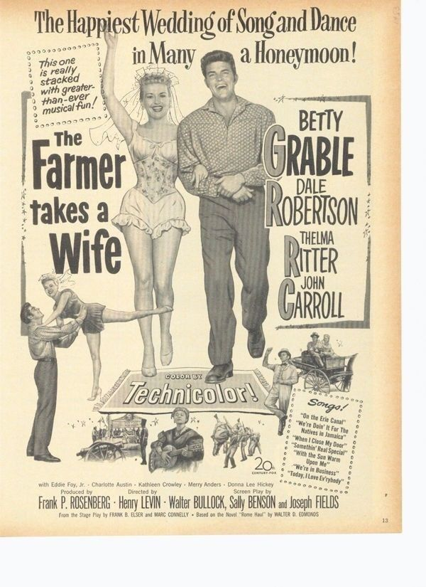Watch The Farmer Takes a Wife Full-Movie Streaming