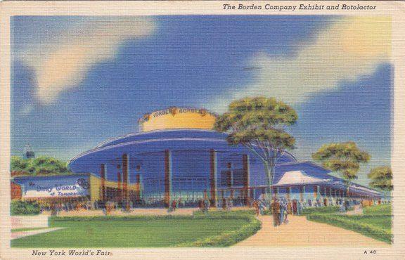 1939 new york worlds fair images | 1939 New York World's Fair- The Borden Company Exhibit