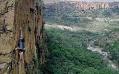 Rock Climbing in South Africa