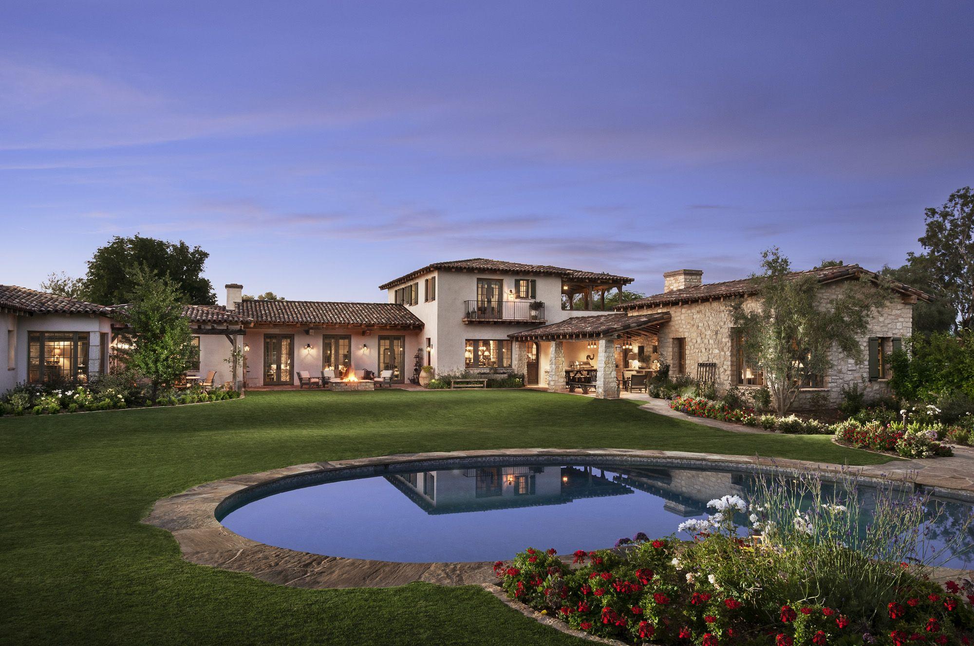 Best Kitchen Gallery: Desert Star Construction Az Custom Home Builders Dream Home of Scottsdale Arizona Home Builder on rachelxblog.com