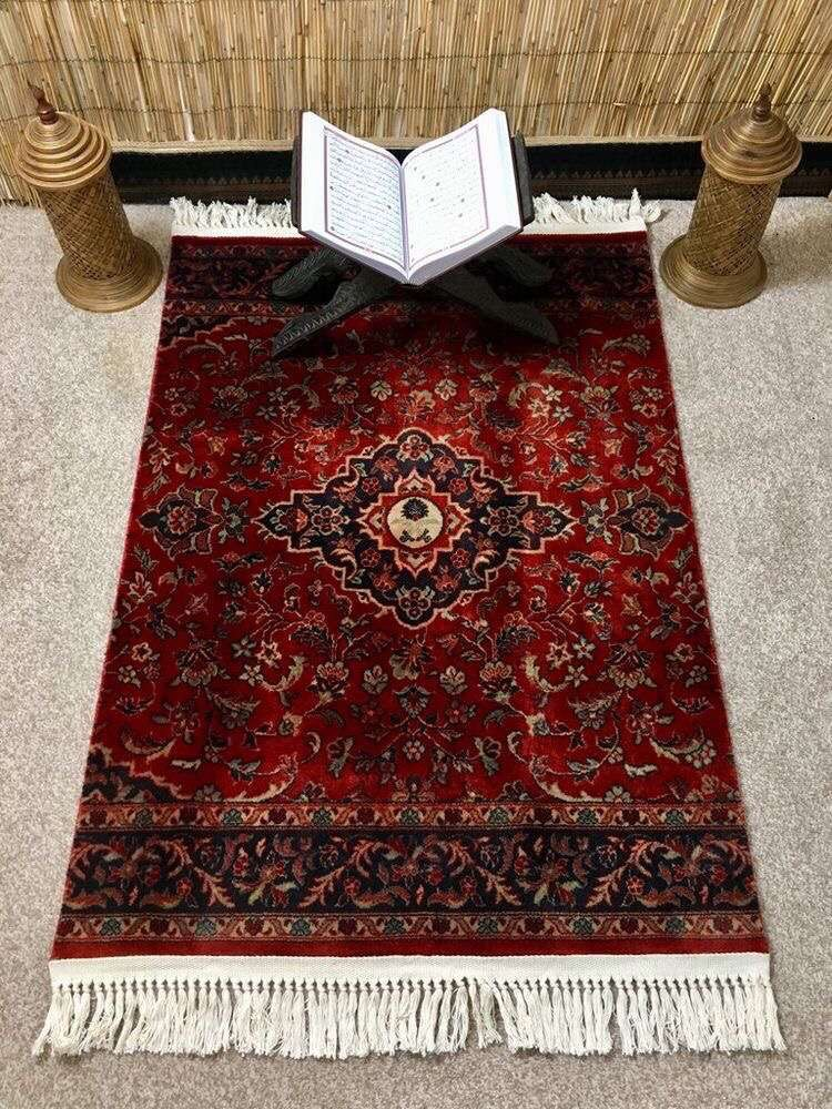 Pin By Azuanda Wakanda On Isllam In 2020 Prayer Mat Islam Muslim Prayer Room Ideas Muslim Prayer