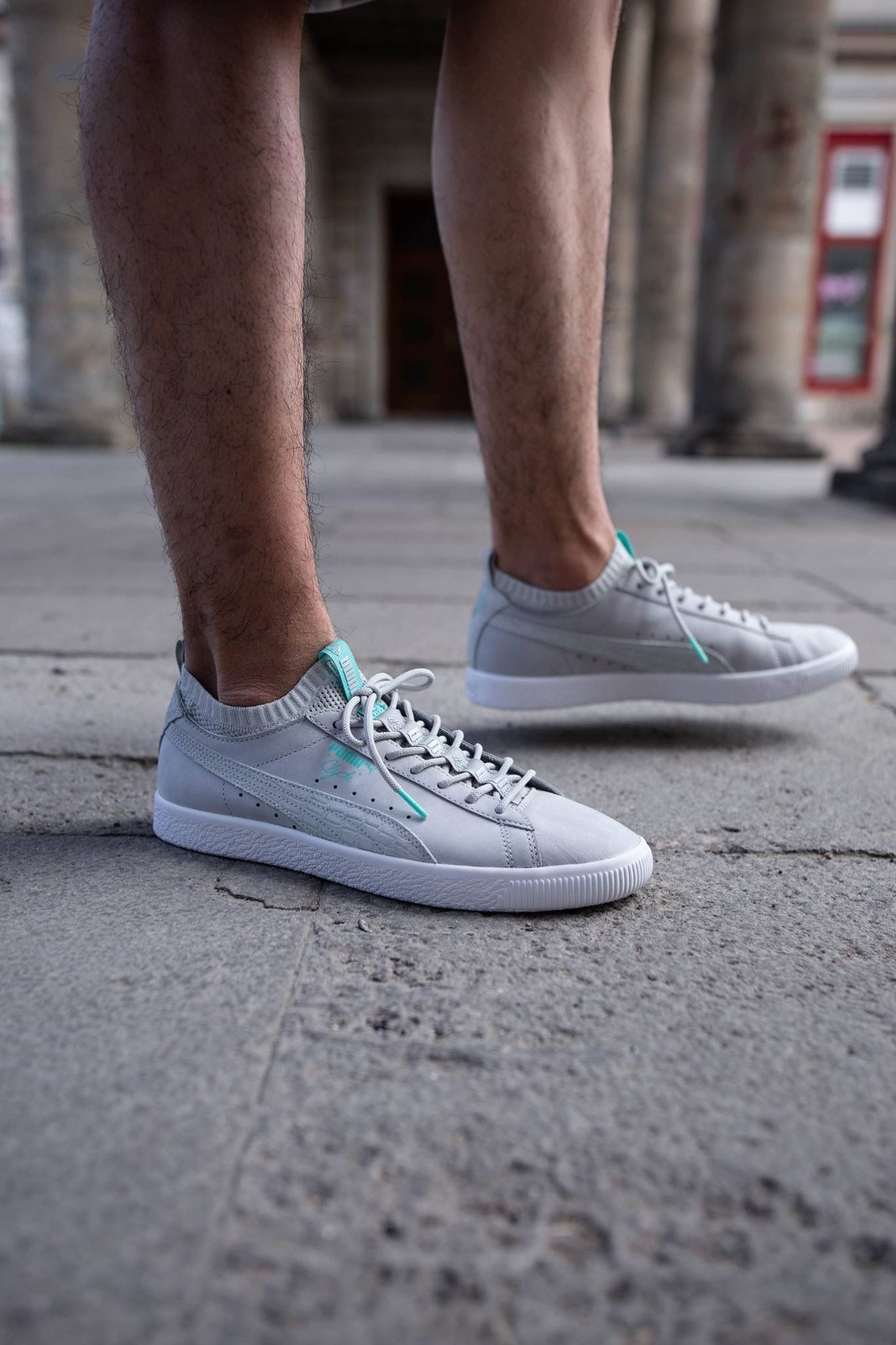 388ebcae519b1d Diamond Supply Co x Puma Clyde Sock
