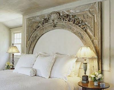 Do it yourself creative headboards ideas using shutters doors do it yourself creative headboards ideas using shutters doors windows or fireplace mantels solutioingenieria Image collections