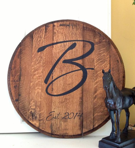 personalized wedding guest book custom bourbon barrel head products bourbon barrel. Black Bedroom Furniture Sets. Home Design Ideas